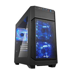 CAJA MICROATX SHARKOON V100 WINDOWS 2XUSB3.0 SIN FUENTE