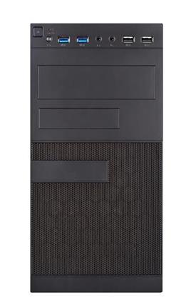 Caja mill matx unyka negra fa500w 2xusb30