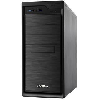CAJA COOLBOX F800U3-0 ATX 2x USB 3.0 S/FTE NEGRO