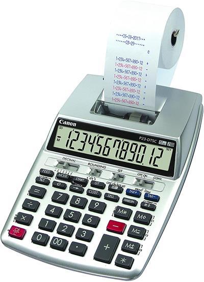 Calculadora Canon CALC P23-DTSC HWB EMEA impresora