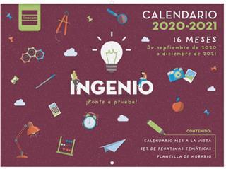 Calendario Finocam 16 meses ingenio 2020-2021