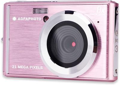 Cámara Agfa DC5200 21MP rosa