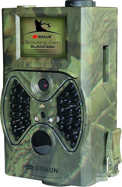 Cámara camuflaje Braun Scouting Black300