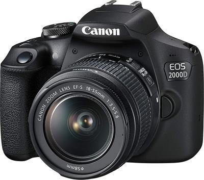 Cámara Canon EOS 2000D 24.1MP WiFi + EF-S 18-55mm ...