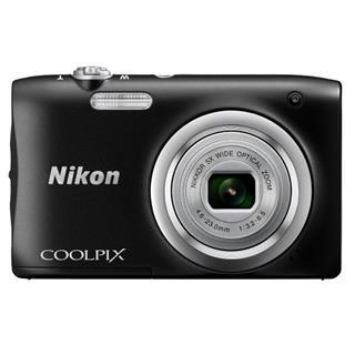 Cámara Nikon Coolpix A100 20.1MP negra + estuche ...
