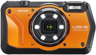 Cámara Ricoh WG-6 20MP naranja