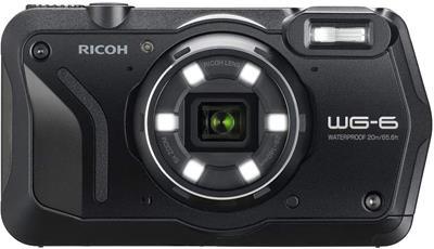 Cámara Ricoh WG-6 20MP negro