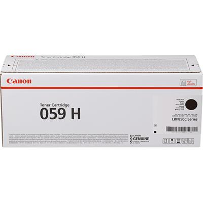 CANON CLBP CARTR 059 H BK TONER       .