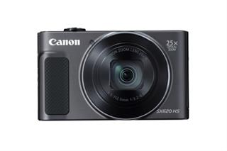CAMARA CANON POWERSHOT SX620 HS BLACK 20.2MP-SD 16GB + FUNDA·DESPRECINTADO