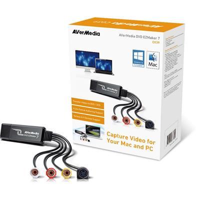 Capturadora de vídeo Avermedia DVD EZMaker 7 USB