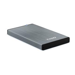 "CAJA EXTERNA 2.5"" SATA TOOQ GRIS USB 3.0 / 3.1"
