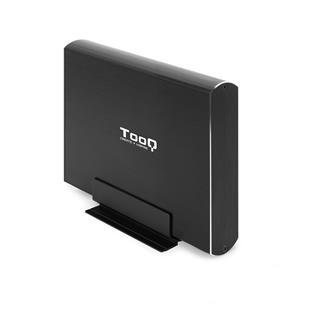 "CAJA EXTERNA 3.5"" SATA TOOQ NEGRA USB3.0/3.1"