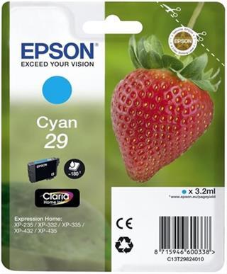 CARTUCHO TINTA EPSON 29 CYAN