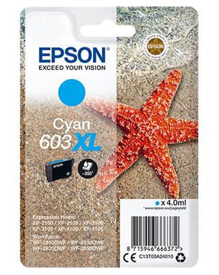 CARTUCHO EPSON 603XL CIAN 4ML