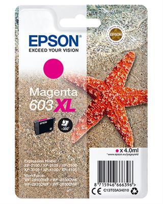 CARTUCHO EPSON MAGENTA 603 XL