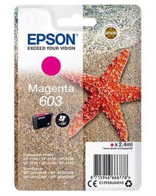 Cartucho epson magenta 603