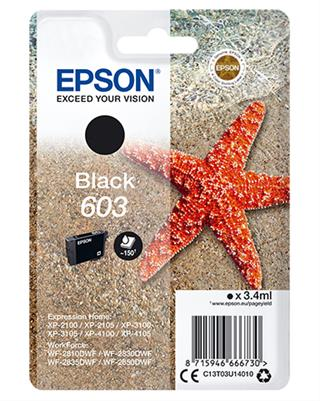 Cartucho epson negro 603