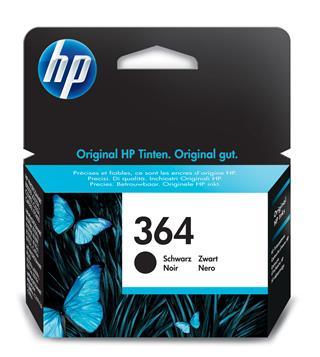 HP INK CARTRIDGE NO 364            BLACK WIT·
