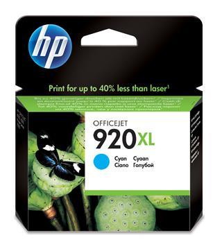 HP 920XL Cyan Officejet Ink Cartridges