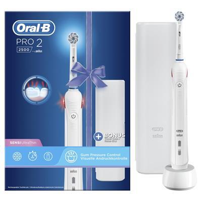 Cepillo eléctrico Oral-B Pro 2500 Blanco