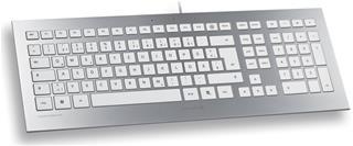 Cherry Keyboard STRAIT Silver Spanish