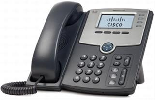 Telefono Fijo Cisco 4 Line IP Phone w/Display PoE + PC Port