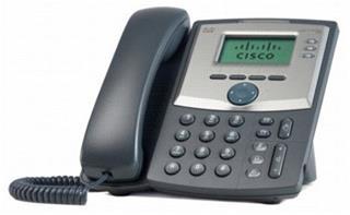 Cisco IP Phone/3Line w/Display+PC Port/EU Plug
