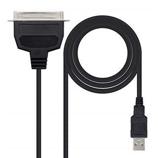 CONVERSOR USB IMPRESORA A PARALELO A/M-CN36(IEEE1284)/M 1.5M NEG