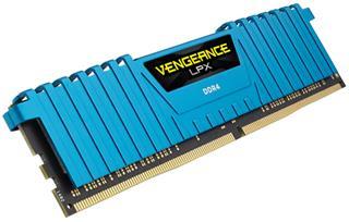 Memoria ram Corsair Vengeance LPX DDR4 16GB 3000MHz azul