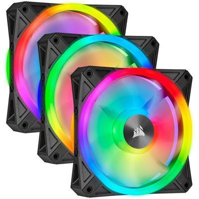 Corsair iCUE QL120 RGB Pack de tres ventiladores ...