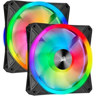 Corsair iCUE QL140 RGB PWM ventiladores Dual Fan ...