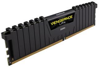 CORSAIR MEMORIA DDR4 16GB 2x8GB PC 2400 Vengeance LPX Black Heat