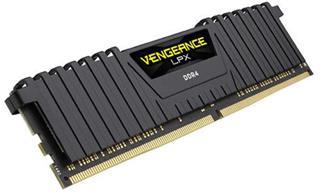 Corsair Memoria DDR4 8GB PC 2400 Vengeance LPX Black Heat spread