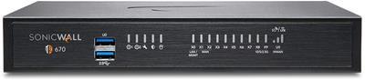 Cortafuegos Sonicwall TZ670 Secure Upgrade Plus