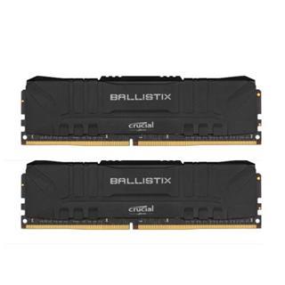 Crucial 2x16GB Kit DDR4 3000MT/s UDIMM Black