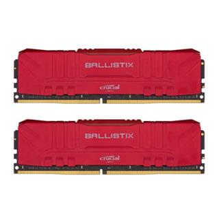 Crucial 2x16GB Kit DDR4 3200MT/s UDIMM Red