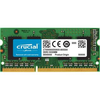 Crucial 4GB DDR3 1066 MT/s PC3-8500 CL7 SODIMM