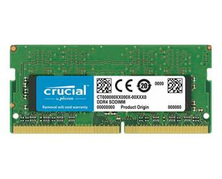 Crucial 4GB DDR4 2666 MT/s PC4-21300 CL19 SR ...
