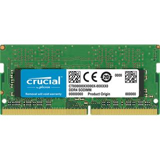 CRUCIAL 8GB DDR4 X8 UNBUFFERED SODIMM 260PIN·
