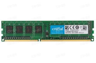 Crucial Mem/2GB D3 1600MHz CL11 UDIMM 1.35/1.5V