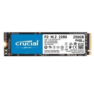 Crucial P2 250GB 3D NAND NVME M.2 SSD