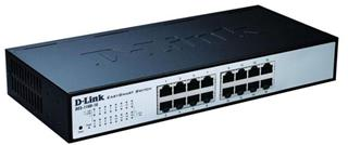 D-Link 16-port 10/100 EasySmart Switch