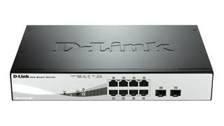 D-LINK 8-PORT GB POE SMART SWITCH      INCLUDING 2 COMBO 1000BAS