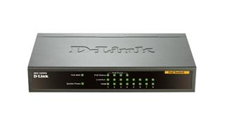D-Link SWITCH 8P.10/100 UNMANAGED POE