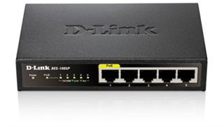 D-Link Switch/5xF+ENet RJ45 ext PSU