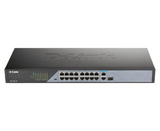 Switch D-Link Trade 18 puertos POE Fast Ethernet 1G SFP UpLink