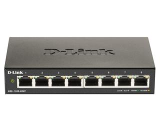 SWITCH GIGABIT 8 PUERTOS SMART MANAGED D-LINK