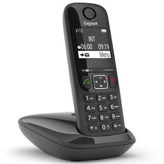 DECT GIGASET AS690 BLACK        BLACK