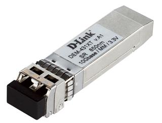 D-LINK 10GBASE-SR SFP+ TRANSCEIVER. 80/300M