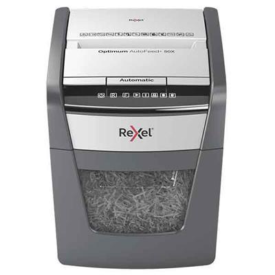 Destructora de papel Rexel Optimum Auto+ 50X ...